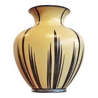 Elma Keramik Vase Nr. 103/21 - Decor 'Haiti' 1958 For Sale