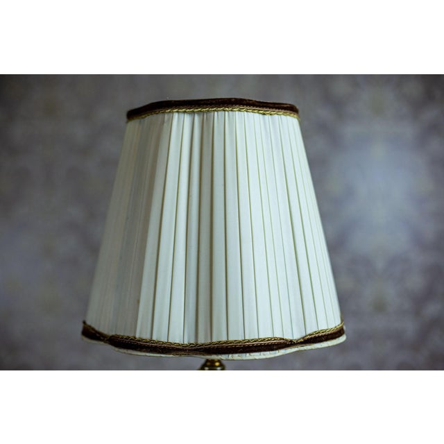 1950s Onyx Table Lamp For Sale - Image 6 of 10