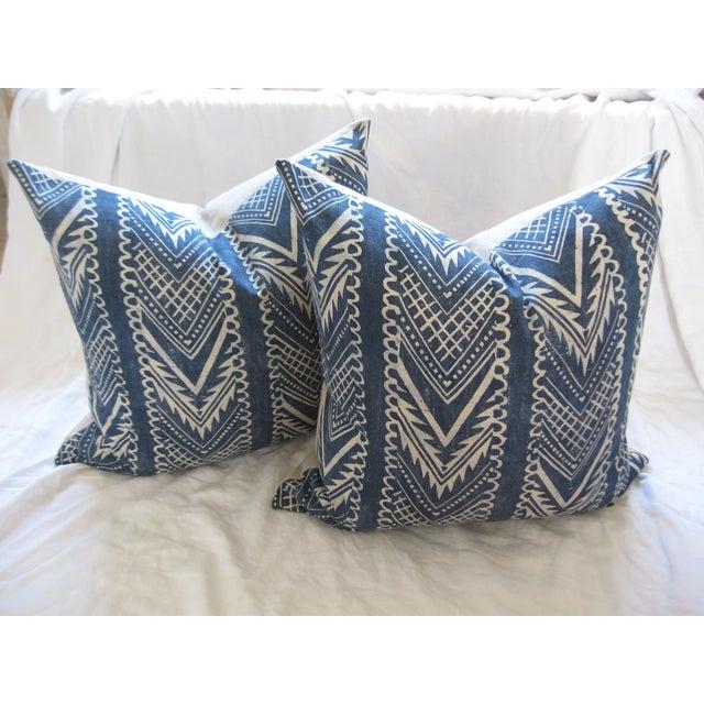 Custom Hand-Spun Linen Pillows - A Pair - Image 5 of 8