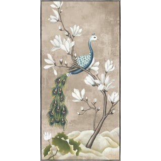 Kenneth Ludwig Print, Birds with Magnolias For Sale