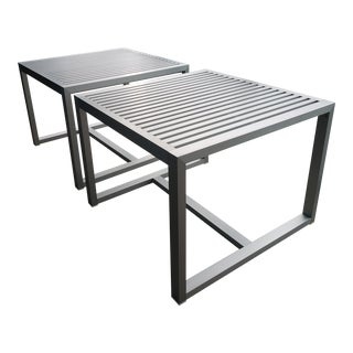 Restoration Hardware Dining Tables - A Pair For Sale