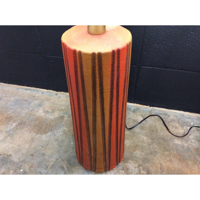 Mid-Century Ceramic Table Lamps - A Pair - Image 8 of 11