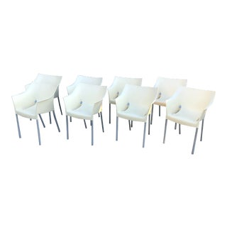 Vintage Dr. No Chairs by Philippe Starck for Kartell - Set of 8 For Sale