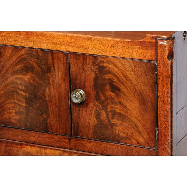 Mahogany Antique English Night Stand For Sale - Image 7 of 9
