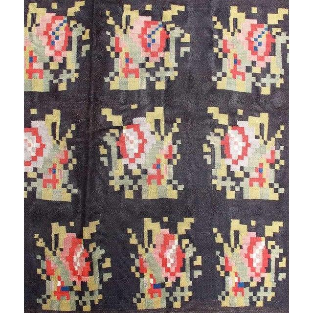 Folk Art Bessarabian Kilim For Sale - Image 3 of 6