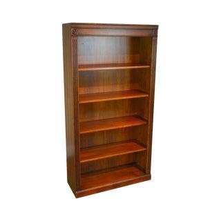 Ethan Allen British Classics Collection Maple Open Bookcase