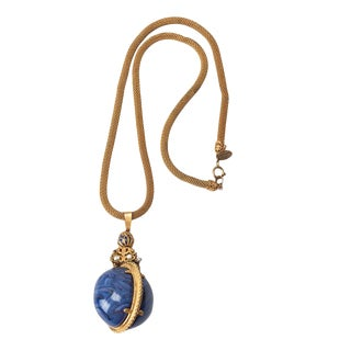 Miriam Haskell Imperial Egg Necklace Necklace For Sale