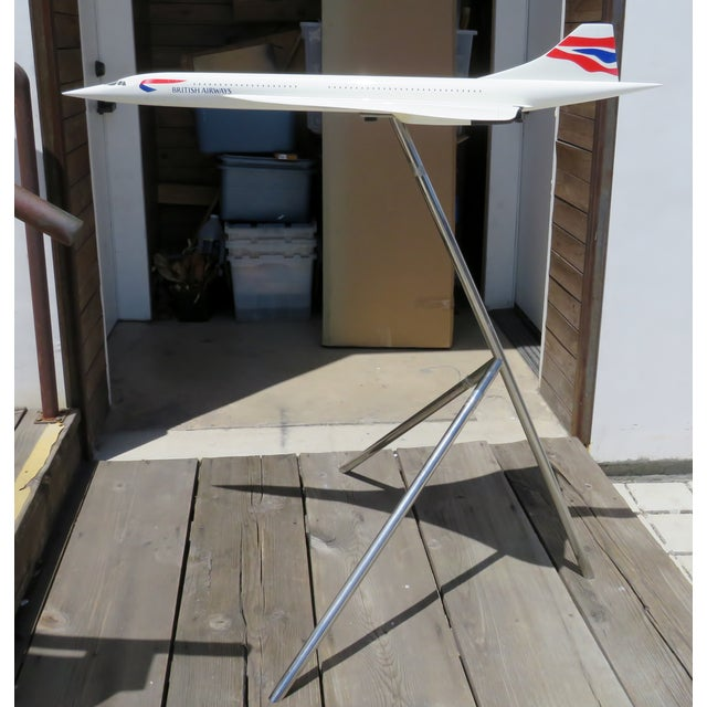 Large-Scale Concorde Jet Model, on Stand For Sale - Image 12 of 12