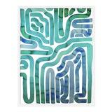 """Image of Medium """"Seaside Pool"""" Print by Kate Roebuck, 30"""" X 40"""" For Sale"""