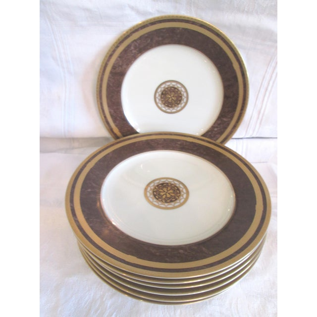 Traditional Mikasa Mahogany Florentine Luncheon Set - 18 Pieces For Sale - Image 3 of 9