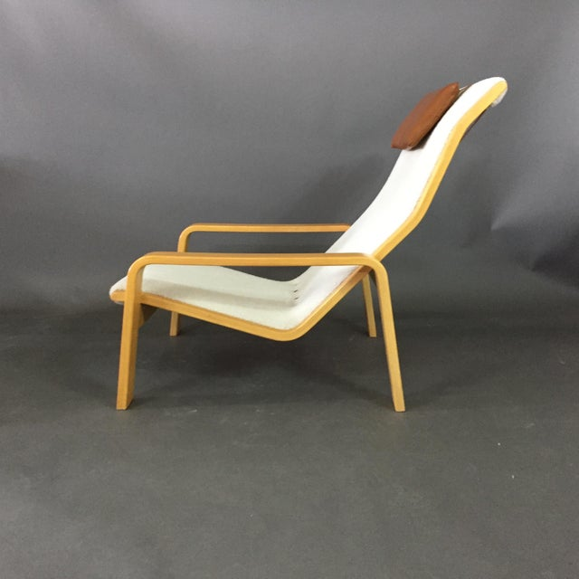 Ilmari Lappalainen Pulkka Lounge Chair for Asko Finland, 1960s For Sale In New York - Image 6 of 9