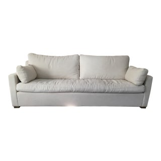Restoration Hardware Belgian Track Arm Sofa For Sale