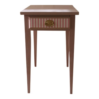 Shaker Style Walnut Side Table
