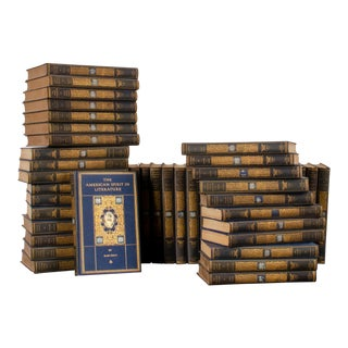1920s Chronicles of America, Yale University Press Books - Set of 49 For Sale