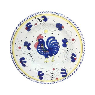 Italian Blue Rooster Dish