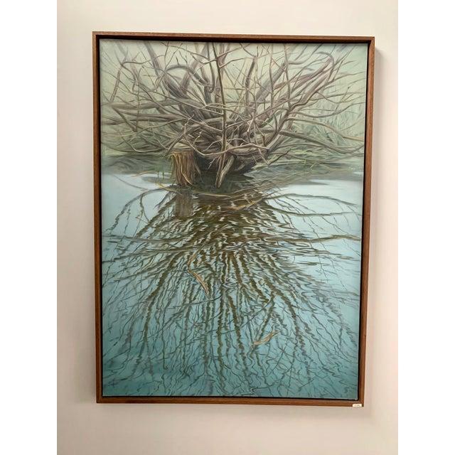 "Original oil painting on canvas 45"" x 61"" by Paulius Juska. Paulius is leading mid-career Lithuanian artist. Participant..."