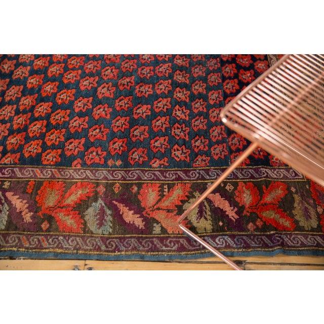 """Textile Antique Karabagh Carpet - 4'9"""" x 9'4"""" For Sale - Image 7 of 13"""