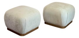 Image of Mid-Century Modern Ottomans and Footstools