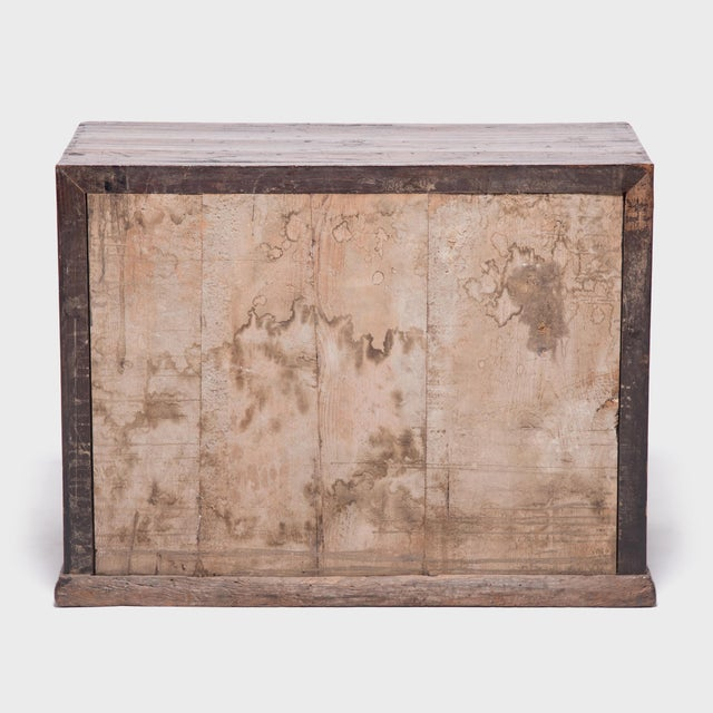Asian 18th Century Chinese Chest With Marble Paneled Doors For Sale - Image 3 of 7