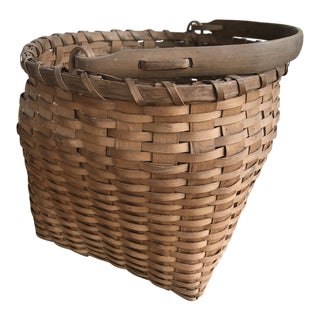 20th Century Tribal Ho-Chunk Inspired Basket For Sale
