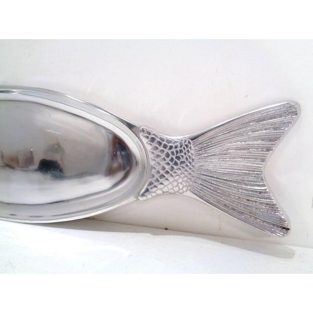 Arthur Court Arthur Court Style Pewter Fish Platter Tray For Sale - Image 4 of 6