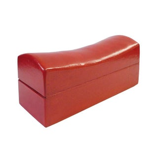 Chinese Traditional Red Pillow Shape Container Box, Jewelry Box Preview