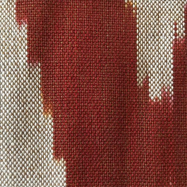 Handwoven Uzbek Ikat Fabric - 3 Yards - Image 3 of 10