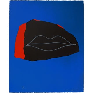 1960s Emerson Woelffer Abstract Lithograph For Sale