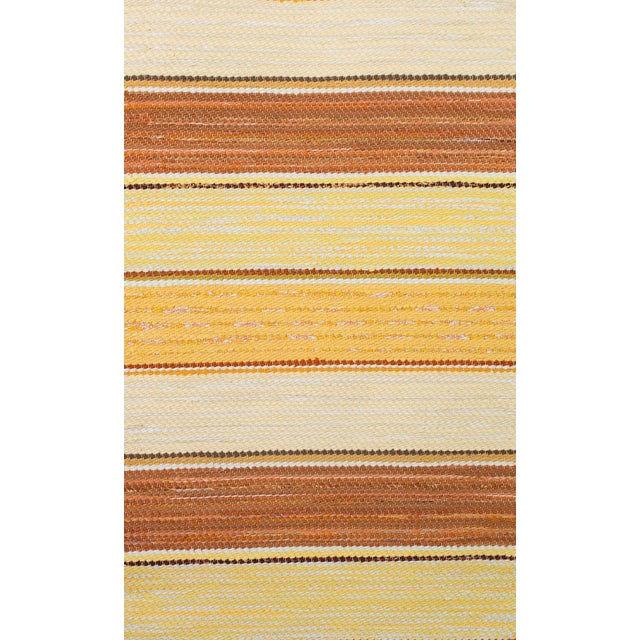 When you need a shot of warmth in your decor and especially yellows, this is the right handwoven Swedish rug to use. This...
