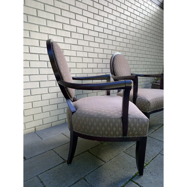Barbara Barry Barbara Barry Baker Chairs - a Pair For Sale - Image 4 of 8