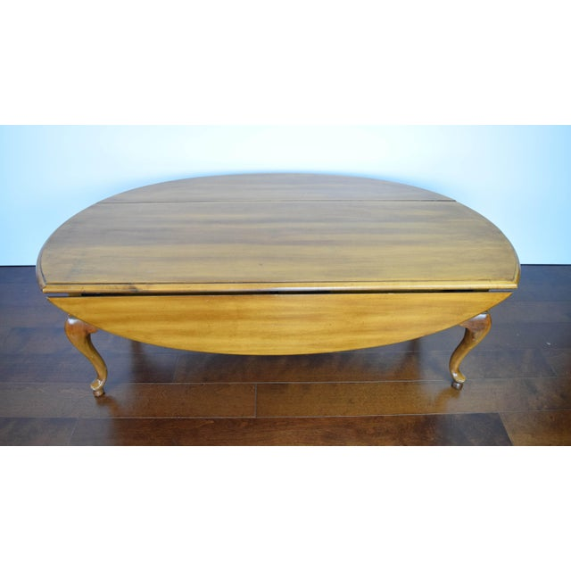 Queen Anne Oval Coffee Table - Image 10 of 11