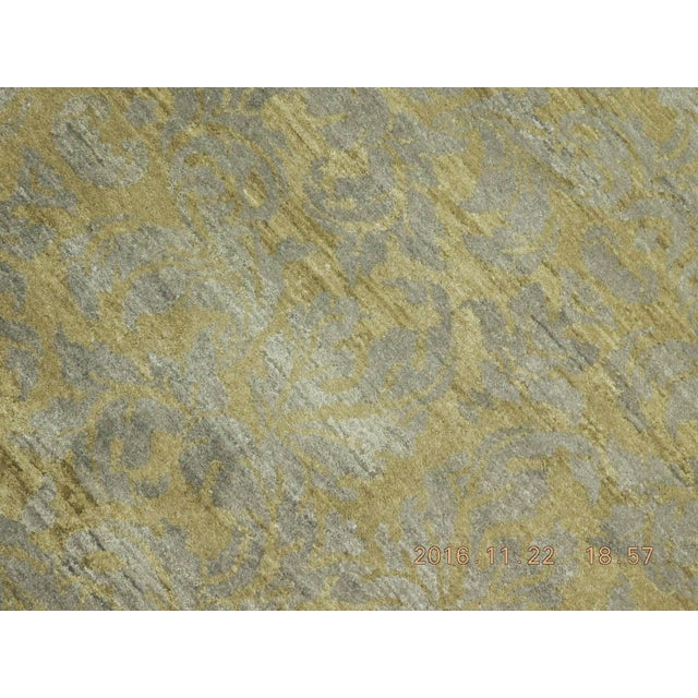 """Hand-Knotted Contemporary Rug - 6'x 9'5"""" - Image 8 of 10"""