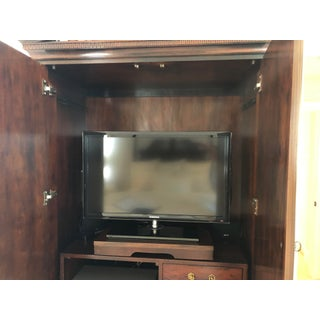 Century Furniture Mahogany Entertainment Center Preview