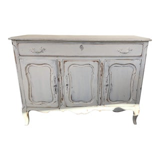 1950's Shabby Chic French Buffet Dresser