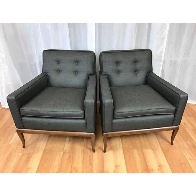 Robsjohn-Gibbings for Widdicomb Lounge Chairs - A Pair - Image 8 of 9