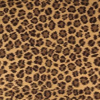 Sample, Scalamandre Cheetah Safari Fabric For Sale