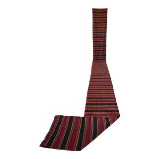 Hand-MadeLong Runner Vintage Kilim Runner Rug Stair Tread - 2′2″ × 25′ For Sale