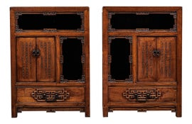 Image of Chinese Nightstands