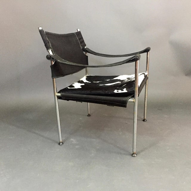"Sigurd Ressell ""Irafas"" Safari Chair, Sigurd Ressell and Cato Mansrud, Norway, 1965 For Sale - Image 4 of 12"