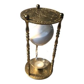 Late 20th Century Antique Zodiac Hour Glass