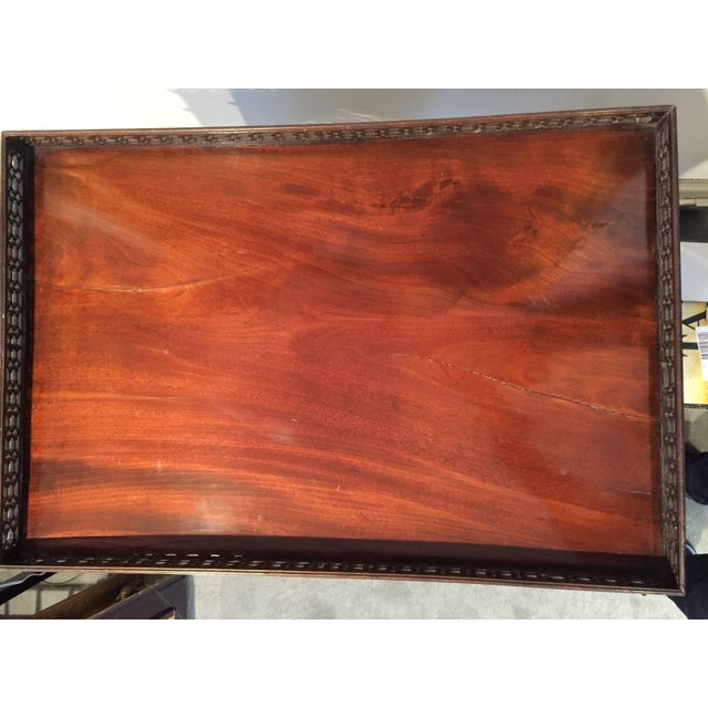 Chinese Chinese Chippendale Mahogany Tea/Coffee Table, Circa 1790 For Sale - Image 3 of 11