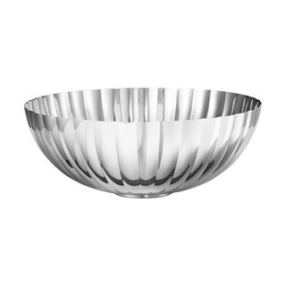 Georg Jensen Art Deco Stainless Steel Bernadotte Bowl, Large For Sale