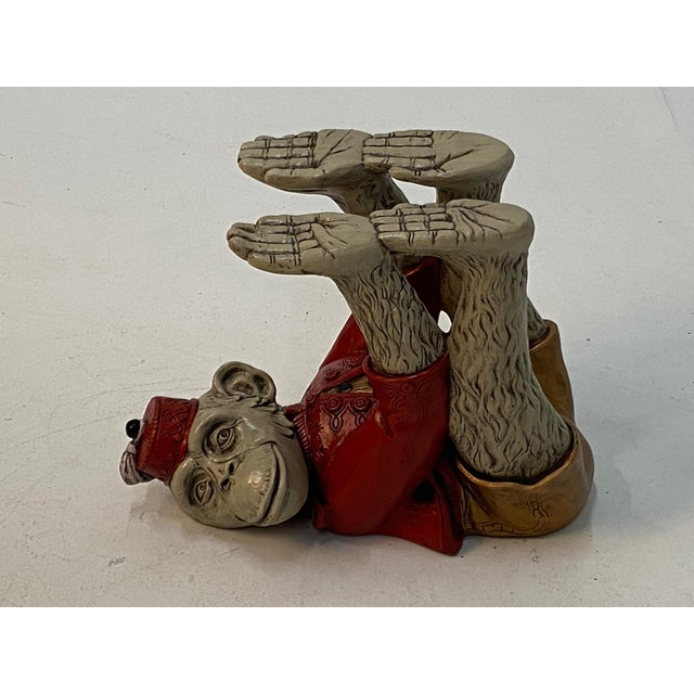 1960s Monkey Motife End Tables Coffee Table -A Pair For Sale - Image 5 of 13