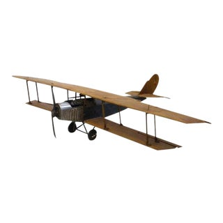 1920's Airplane Jenny Hand Made Model For Sale