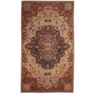 RugsinDallas Persian Hand Knotted Wool Kerman Rug- 10′8″ × 18′5″ For Sale