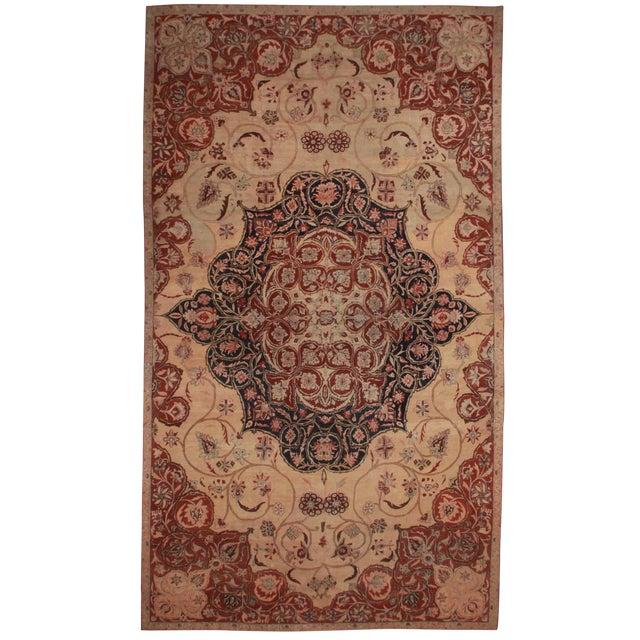 RugsinDallas Persian Hand Knotted Wool Kerman Rug- 10′8″ × 18′5″ - Image 1 of 2