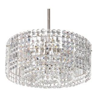 Geometric Crystal Prism Chandelier by Kinkeldey For Sale