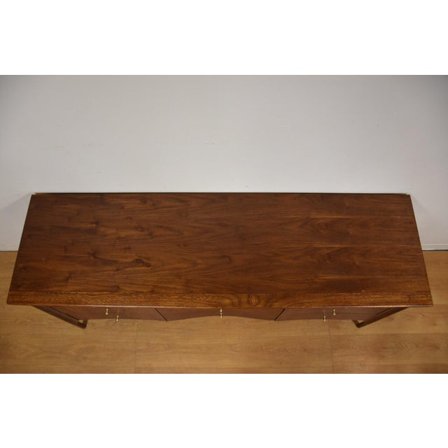 Forward Furniture by Unagusta Walnut Dresser For Sale In Boston - Image 6 of 11