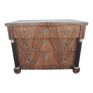 Vintage Empire Style Chest of Drawers