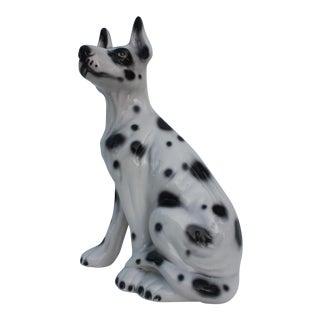Italian Spotted Dalmatian Sculpture